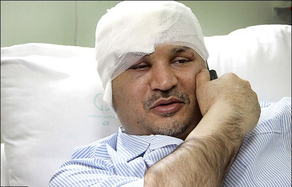 علی دایی در بیمارستان بستری شد | عکس در بیمارستان