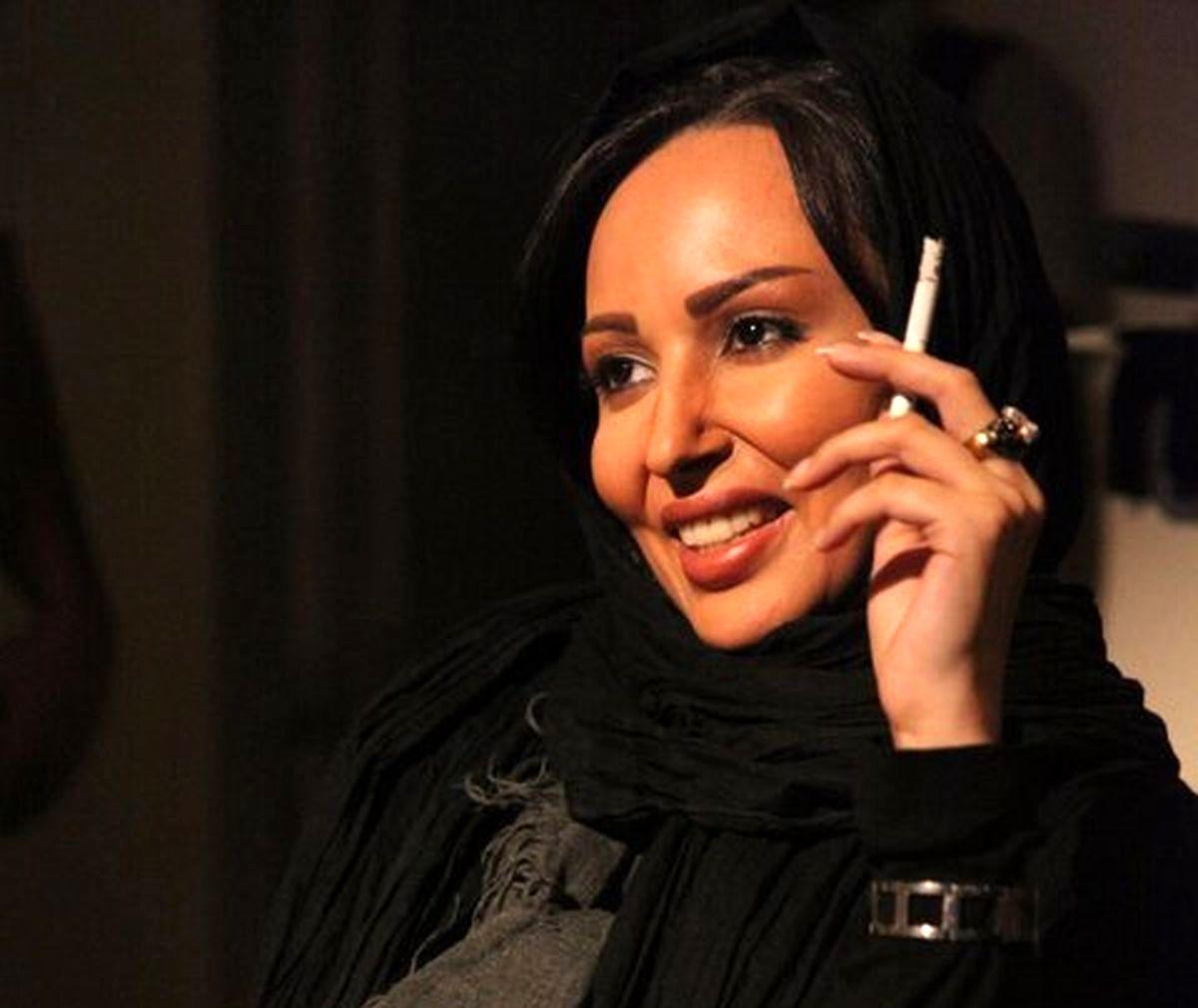 فیلم گریه های پرستو صالحی بعد از مهاجرت به خارج از کشور   اولین واکنش پرستو صالحی