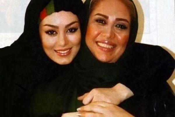 عکس دیده نشده از مادر جوان سحر قریشی | سحر قریشی و همسرش