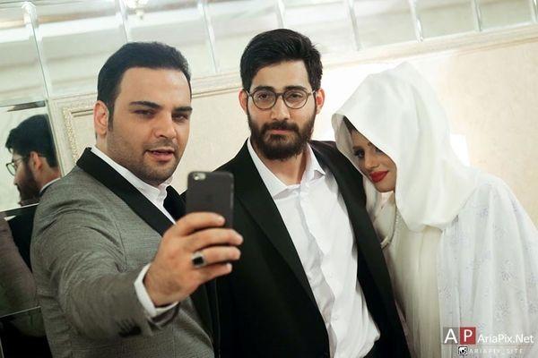 عکس جنجالی از مراسم ازدواج برادر احسان علیخانی | احسان علیخانی در کنار عروس