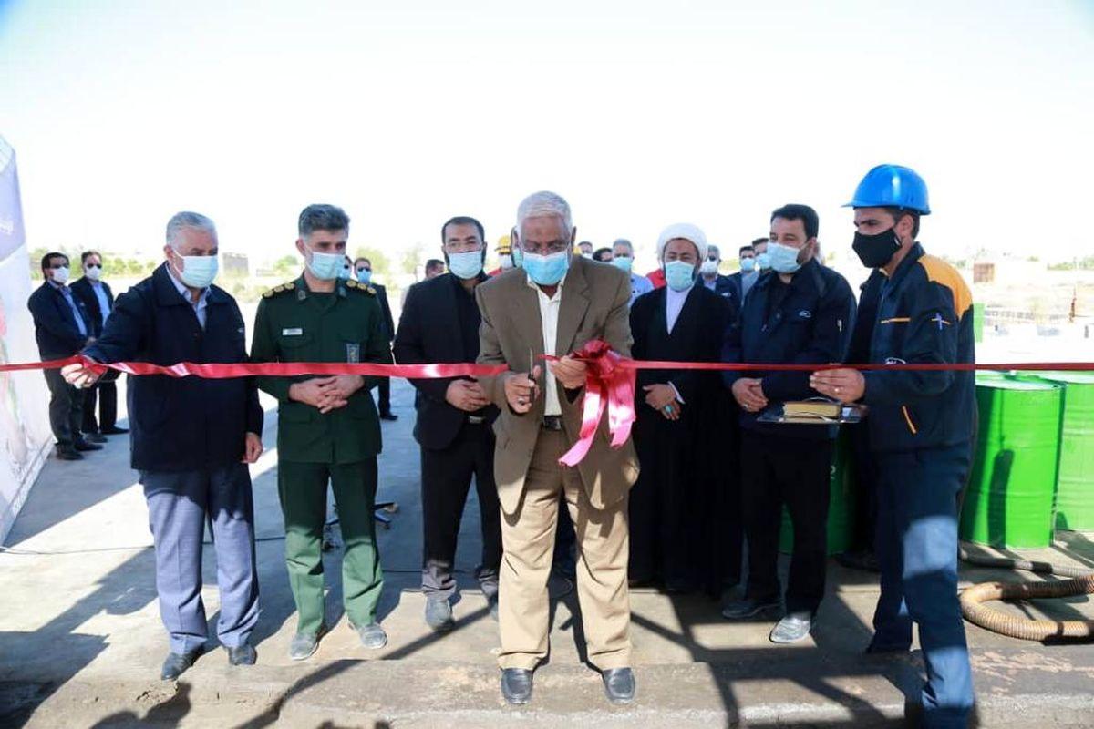 افتتاح پروژه افزایش ظرفیت تولید روغن MES_T ایرانول در پالایشگاه روغن سازی آبادان