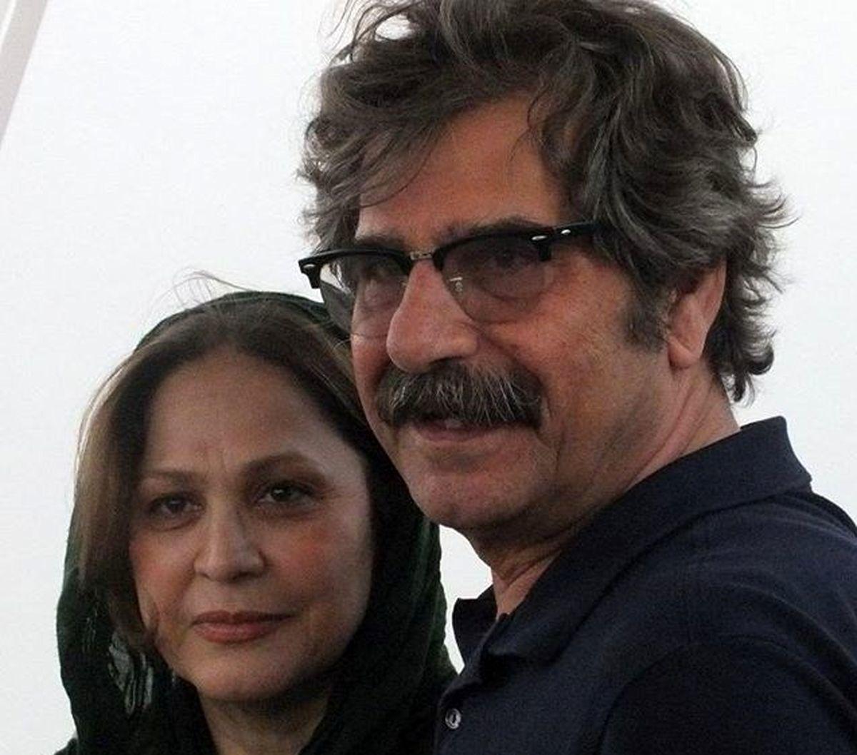 فوری/ عزت الله مهرآوران بازیگر مشهور درگذشت | عکس همسر عزت الله مهرآوران