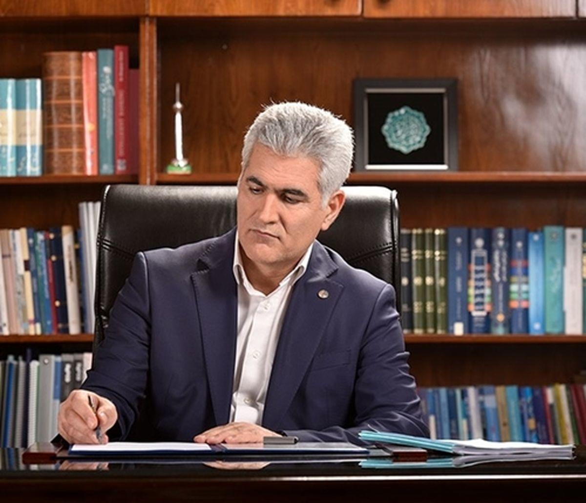 پیام تبریک مدیرعامل پست بانک ایران به مناسبت فرارسیدن هفته دفاع مقدس