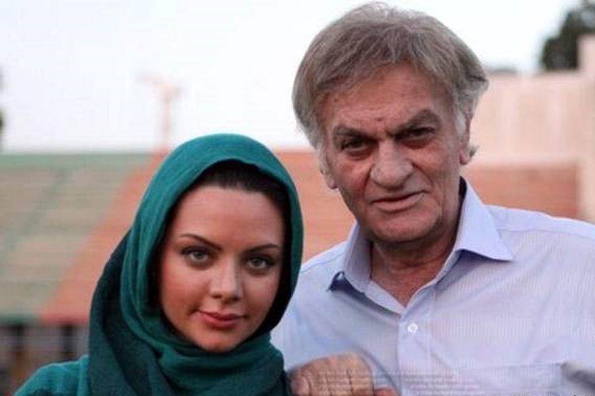 حال فتحعلی اویسی بازیگر سریال مادرزن سلام وخیم شد | عکس دختر جوان این بازیگر