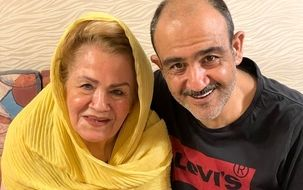التماس همسر مهران غفوریان از مردم: برای همسرم دعا کنید | فیلم دردناک مهران غفوریان