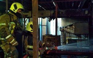 فوری: آتش سوزی عطیم در بیمارستانی در خیابان انقلاب   فیلم آتش سوزی