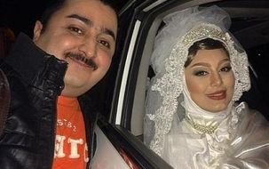 فیلم عروسی سحر قریشی منتشر شد | عکس سحر قریشی در کنار داماد