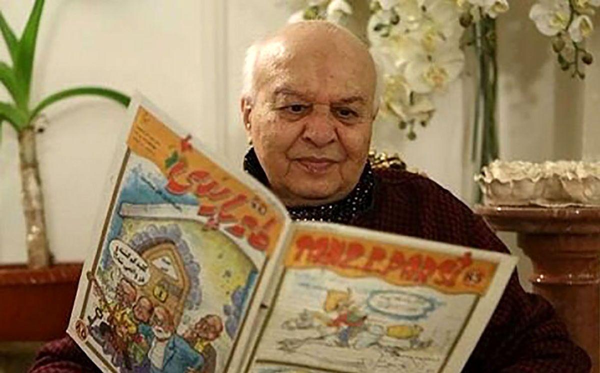 فوری: کاریکاتوریست پیشکسوت ایرانی درگذشت | عکس کاریکاتوریست